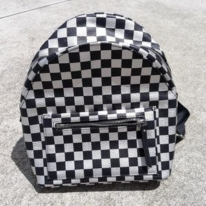Wild Fable checkered purse backpack Target